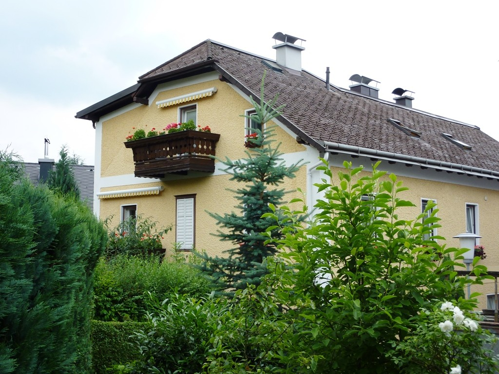 Unser Haus in der Karl-Josef-von-Frey-Gasse in Gmunden, Stadtteil Weyer