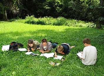 Lernen im Freien