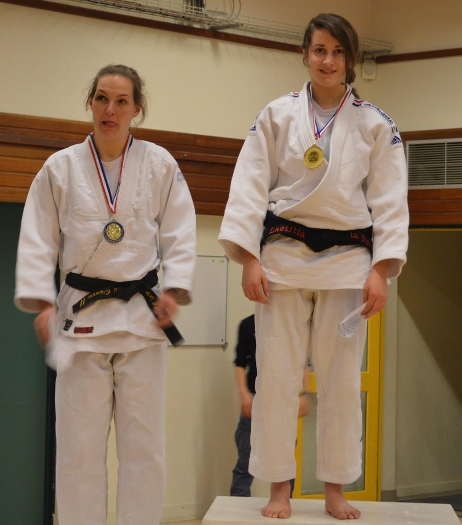 Orianne Maouche Vice -championne de l'Orne seniors -57 kg