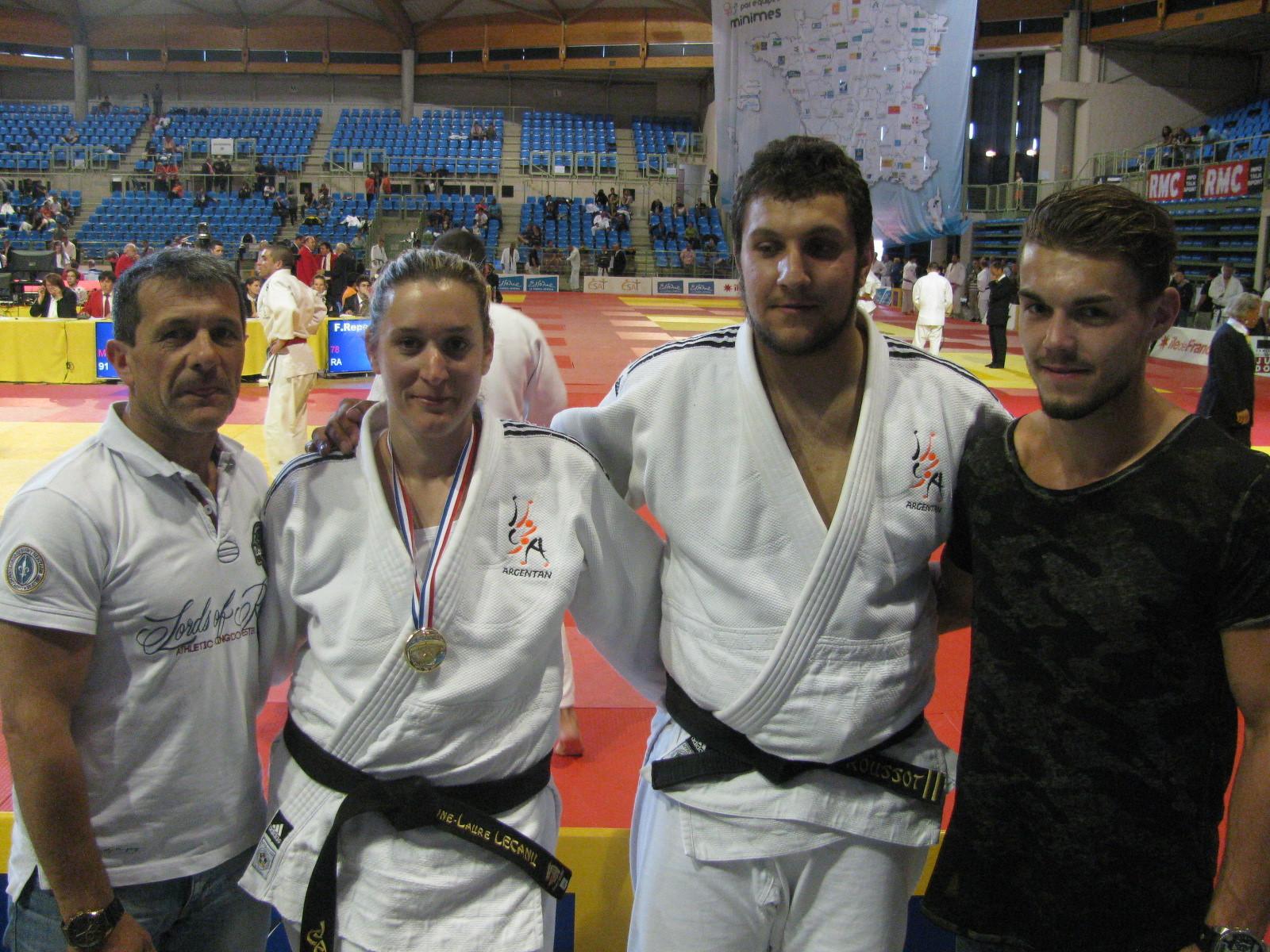 Alberto, Anne-Laure, Loïc et Florian