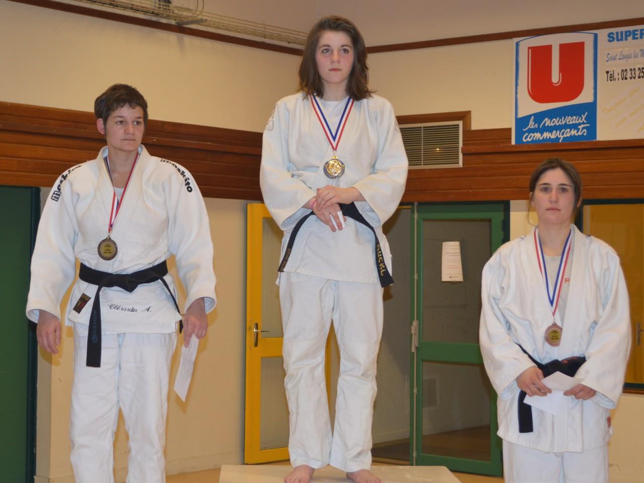 Chloé RUCK Championne de l'Orne seniors -52 kg