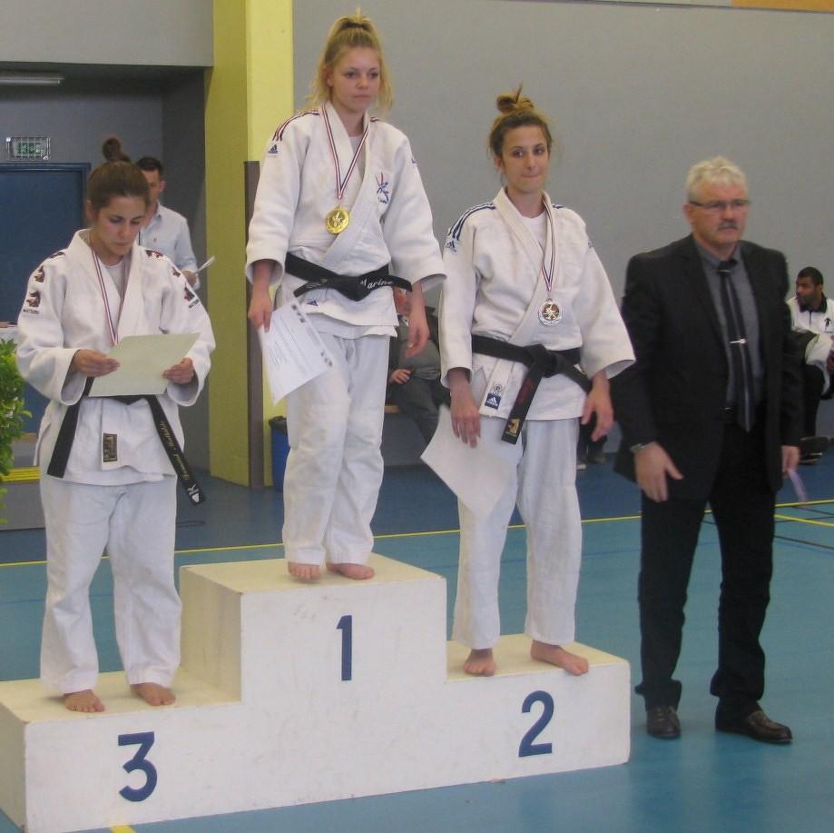 Laura PAIN 2ème qualifiée championnat de Frfance 2ème Division -48 kg