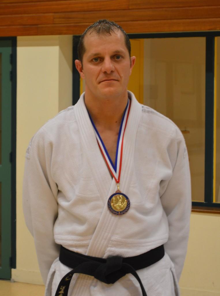 Philippe Lelivre 4ème au championnat de l'Orne seniors -81 kg