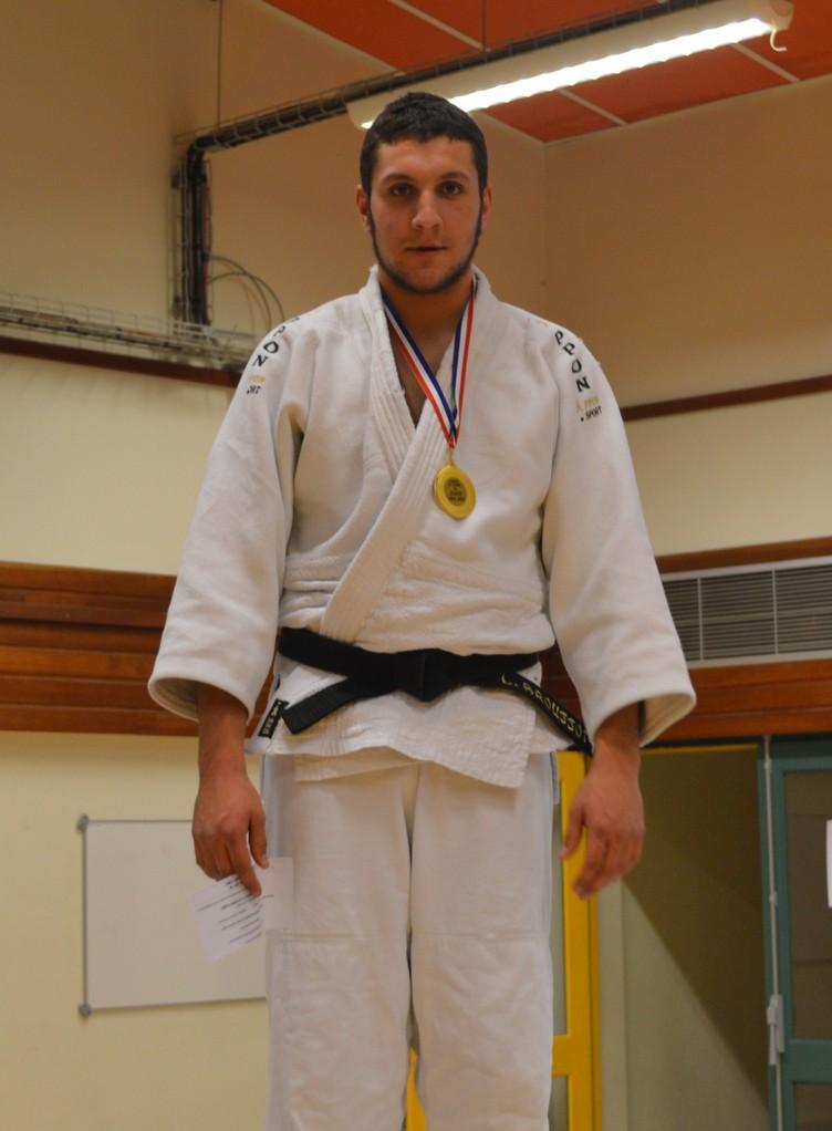 Loïc Broussot Champion de l'Orne seniors -100 kg