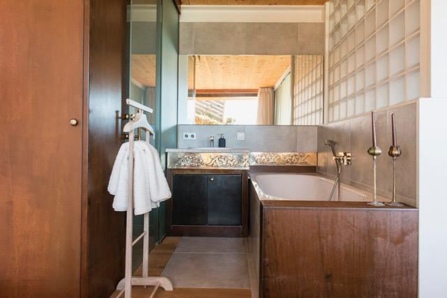 Badezimmer Apartment Kleine Nachtmusik