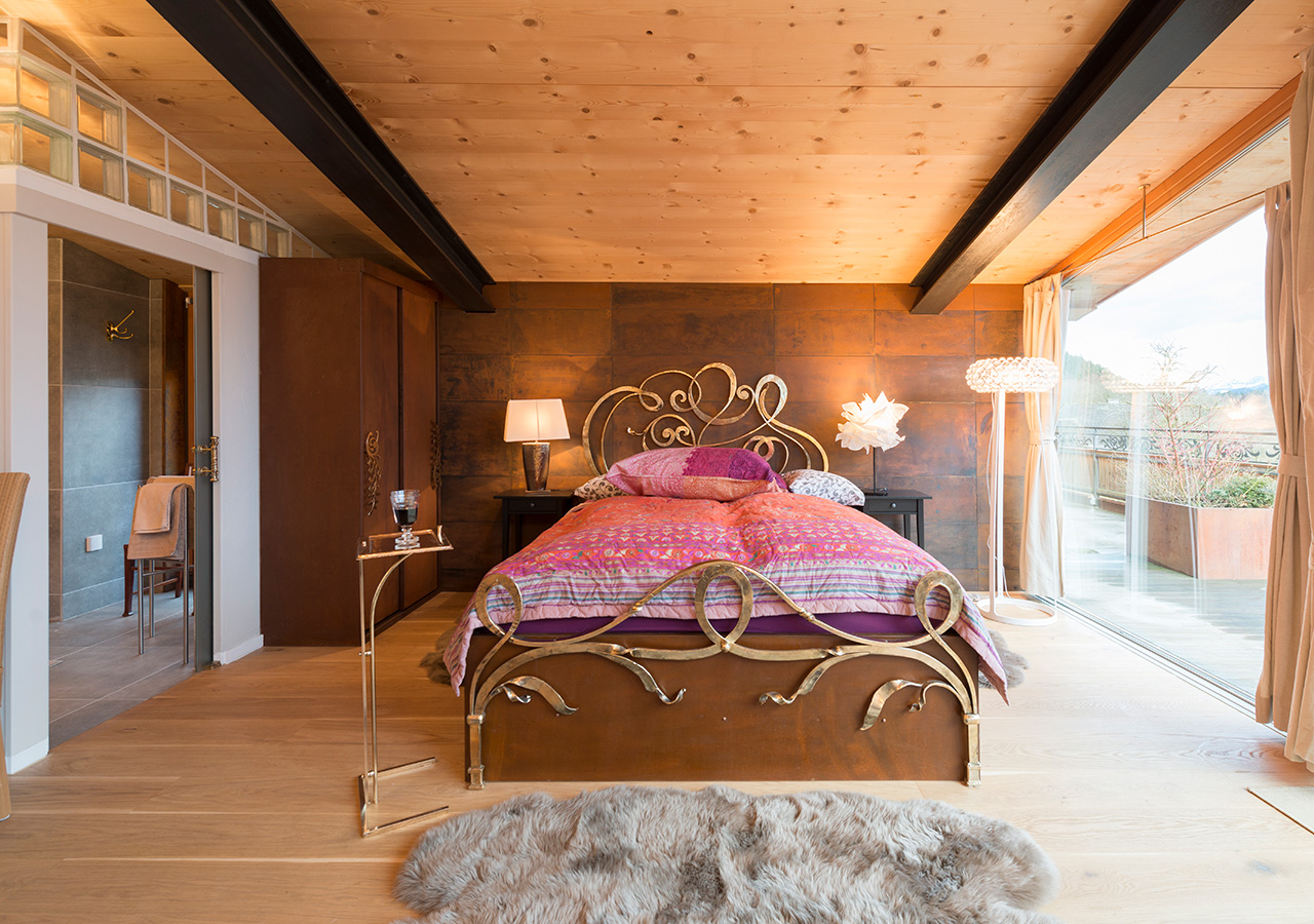 Schlafbereich Apartment Zauberflöte