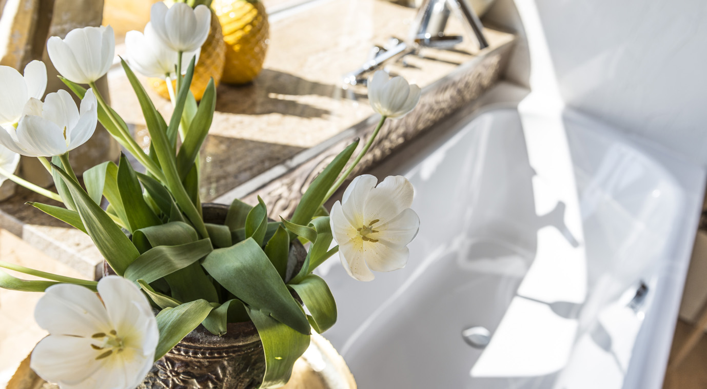 Badezimmer Detail Apartment Figaro
