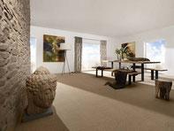 Bodenbeläge: Ob Teppichboden, Parkett, Designbelag oder Laminatboden.  Top-Qualität, moderne Farben und ausgefallene Designs sorgen für besonderes Wohlgefühl.