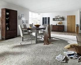 Teppichbelag, Teppichboden, Teppich, Textiler Bodenbelag, Raumakustik mit Teppich