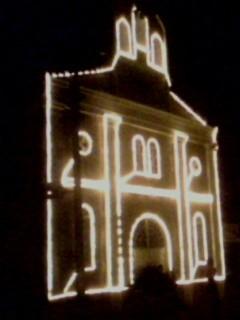 Taller San Jose de Tame, antigua parroquia de la ciudad llanera, donde se bautizaron miles de raizales...