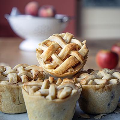 Apple Marzipan Pie