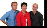 Portrait Peter, Simone und Andreas Bott, Inhaber Fliesen Bott GmbH, Mainz