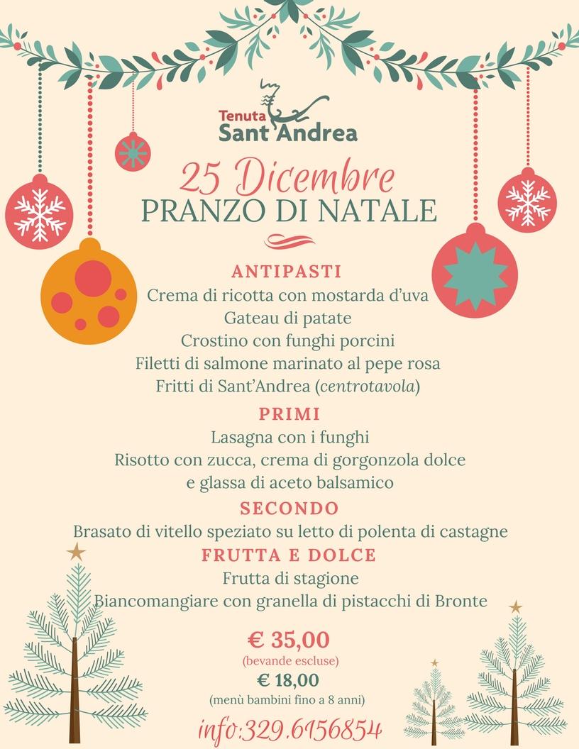 Favorito Il Natale 2017 a Tenuta Sant'Andrea - Agriturismo nel Salento EJ35
