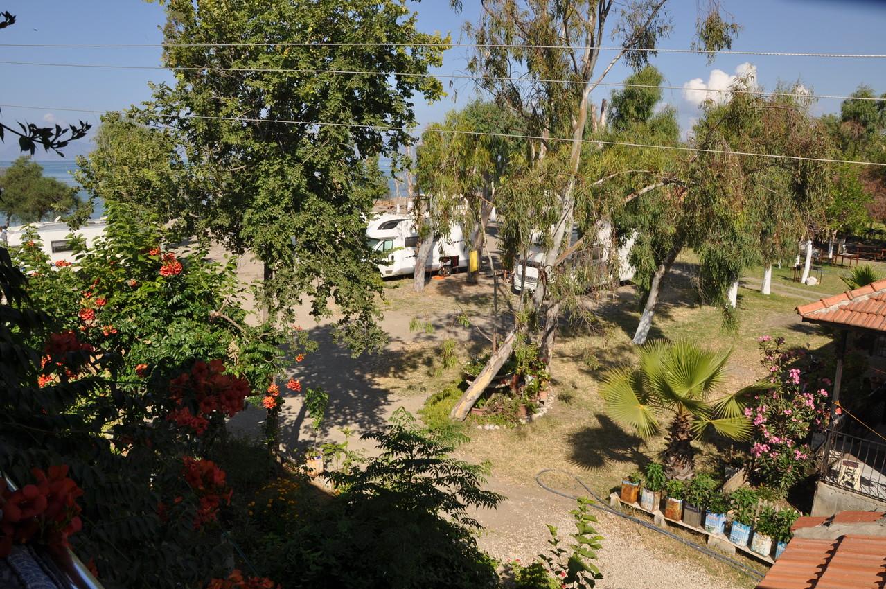 Blick über Camping Fethye 2013