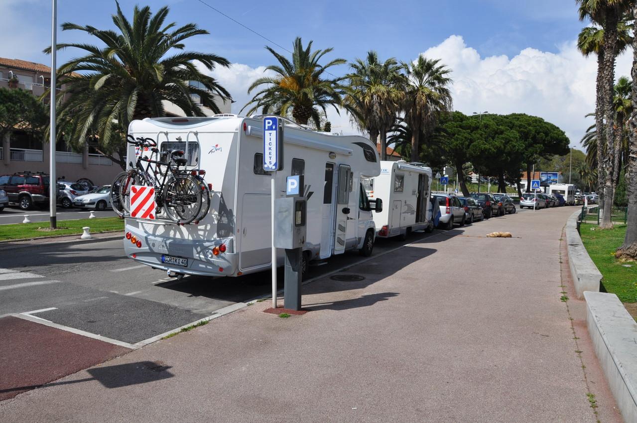 Parken in Antib