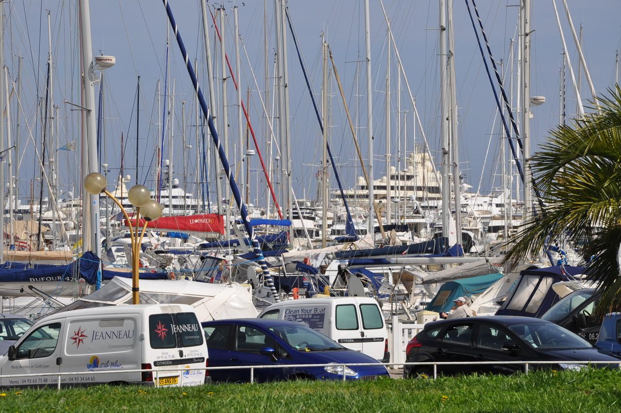 Hafen von Antib
