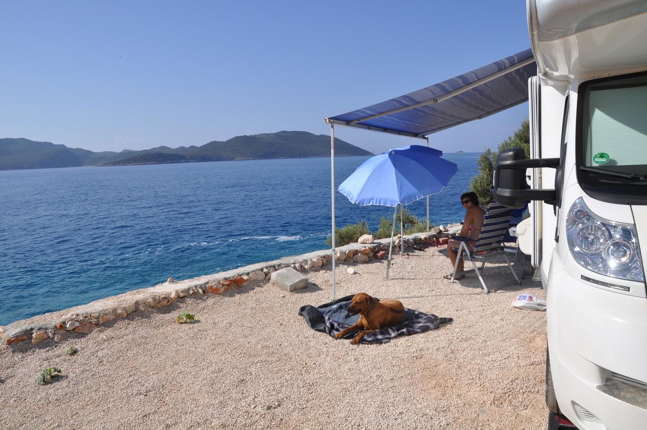 Camping Kas mit super Meerlage 2013