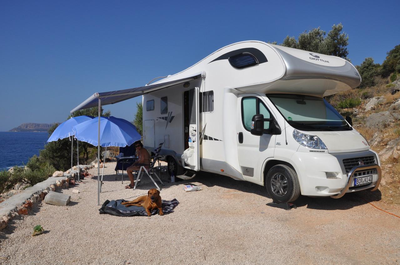 Camping Kas 2013