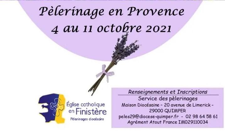 Pèlerinage en Provence, du 4 au 11 octobre 2021