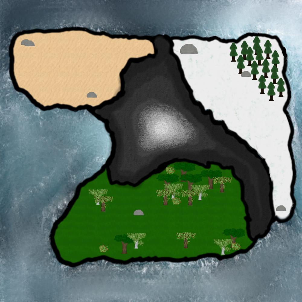 Die Mapauswahl: Hier kann man vor Spielbeginn auswählen auf welcher der bisher drei Maps man spielen möchte, oder ob man eine eigene Datei laden will!