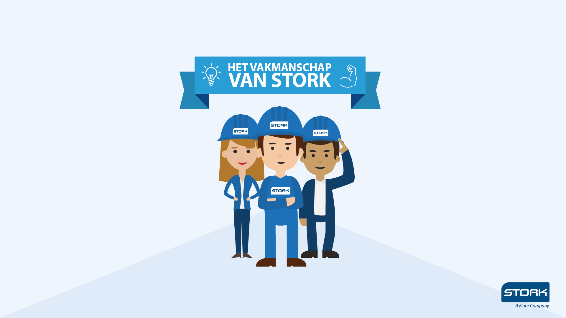 Image and design of Operational Excellence campaign for Stork Netherlands - with Noortje Peek