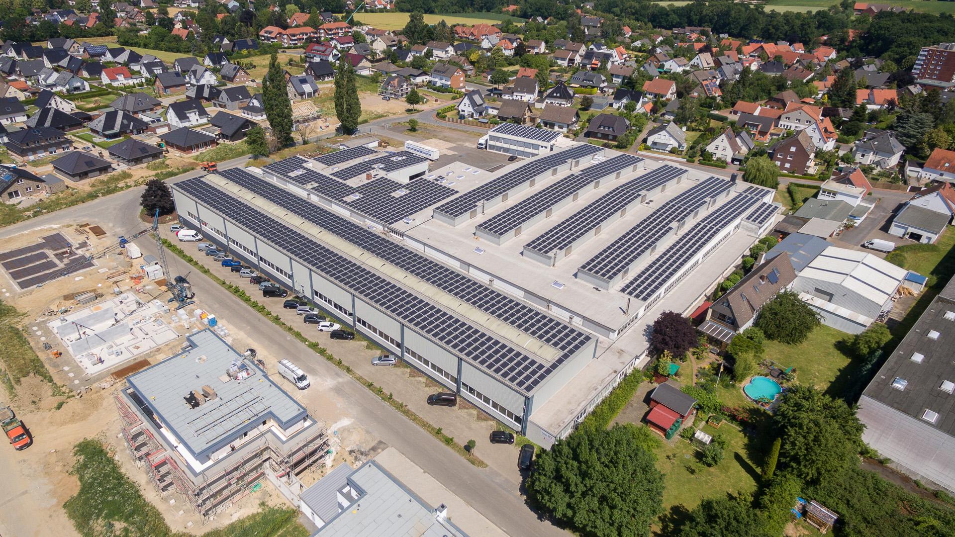 Drohnenafuanhmen für die Firma Heat 11 GmbH & Co. KG