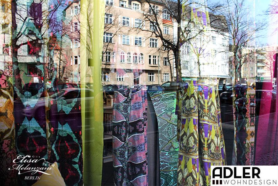Adler Wohndesign 03/2015 - Schaufensterausstellung  © ELISA MELANZANI BERLIN