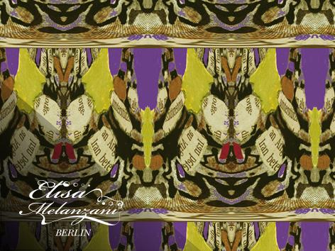 butterfly art deco © ELISA MELANZANI BERLIN