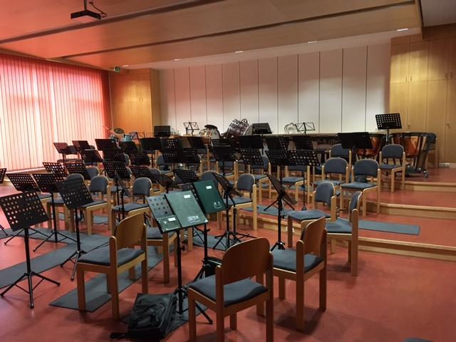 Komplettinstallation bzw. Neuinstallation des Musikprobenraumes Tarsdorf.