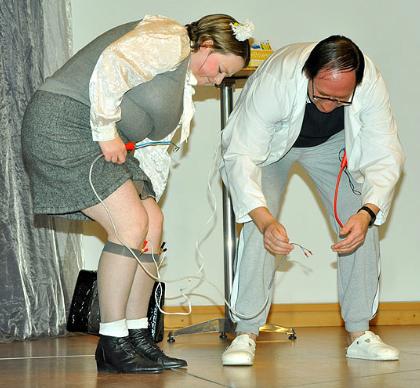 """Lore und Leo in """"Kurschatten"""" 2008"""