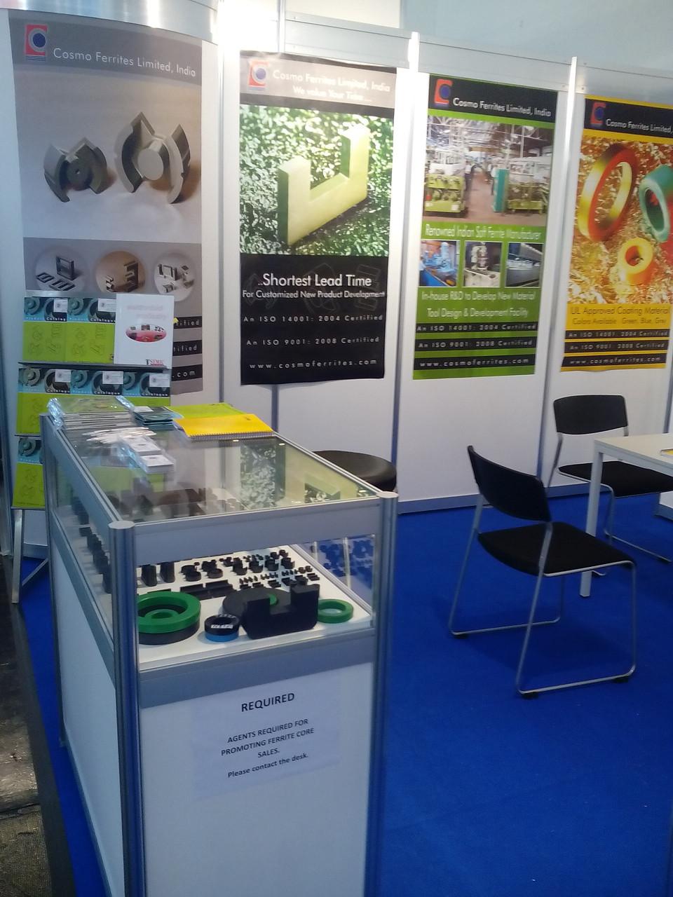 ヨーロッパや米国、ロシアなどで 展示会に参加し、日本では Automotive展と バッテリー展に参加します。