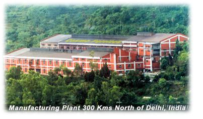 欧州の先進設備を備えた工場がインド北部 ヒマラヤの麓にあります。安定品質と歩どまりを誇ります。