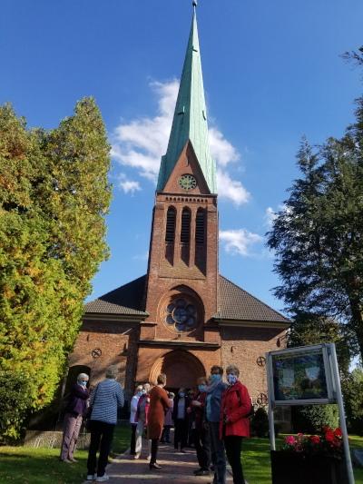 LandFrauen luden zur Erntedank-Andacht in die Sieker Friedenskirche
