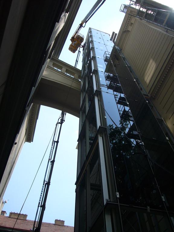 Aufzugsverglasung