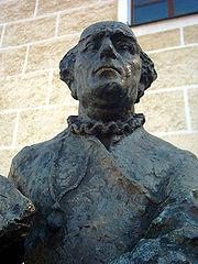 Monument dédié à Paracelse en Bavière à Beratzhausen
