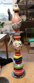Gartenstele von Frau Rueg...