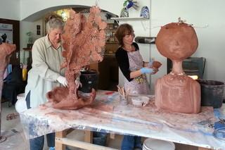 Work in process - Phönix von Andrea und Kind von Karin
