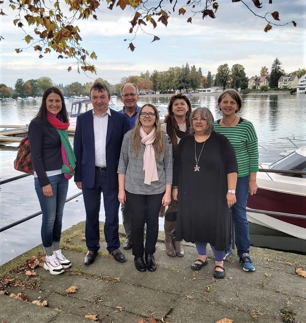 unsere Fraktion bei der LDK in Lindau mit Christina Haubrich MdL