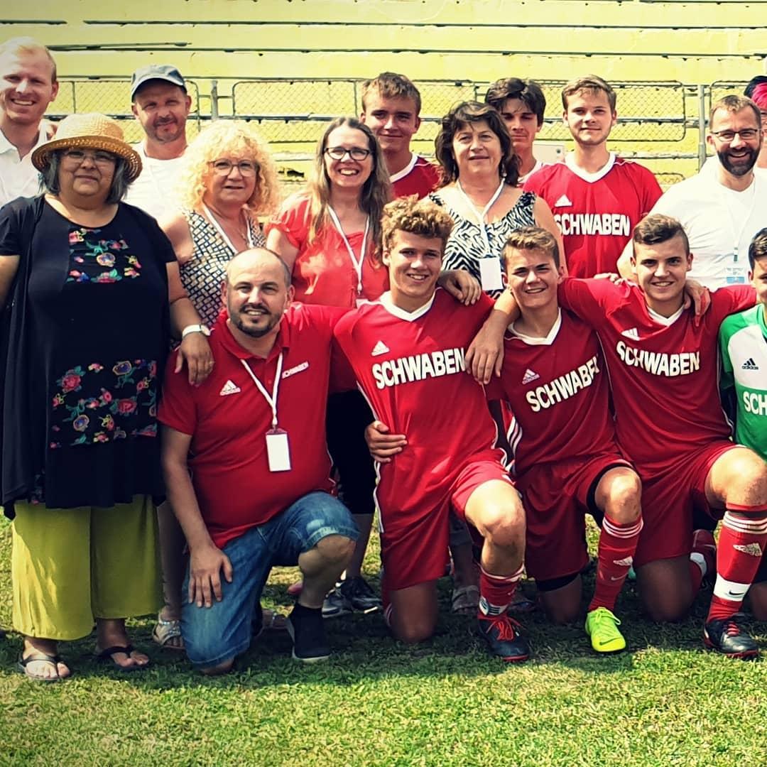 unsere schwäbische Bezirks Siegermannschaft in Suceava/Rumänien