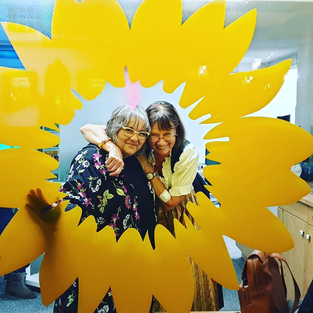einfach toll unsere Sonnenblume - mit Petra Hien