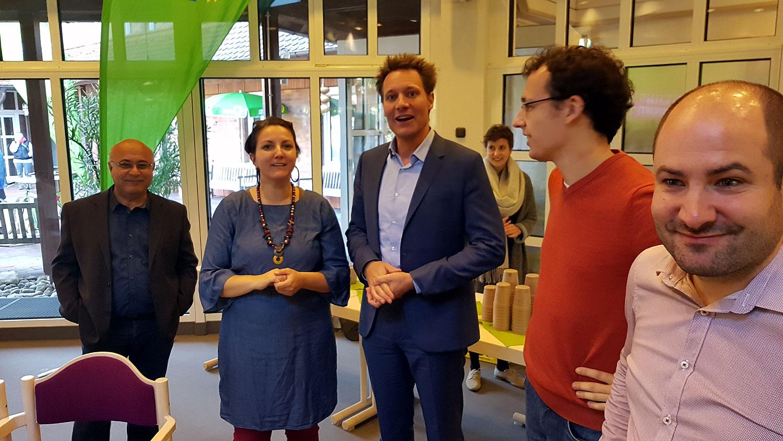 Veranstaltung mit Ludwig und Katha im Diako in Augsburg, mit Melitta und Sebastian