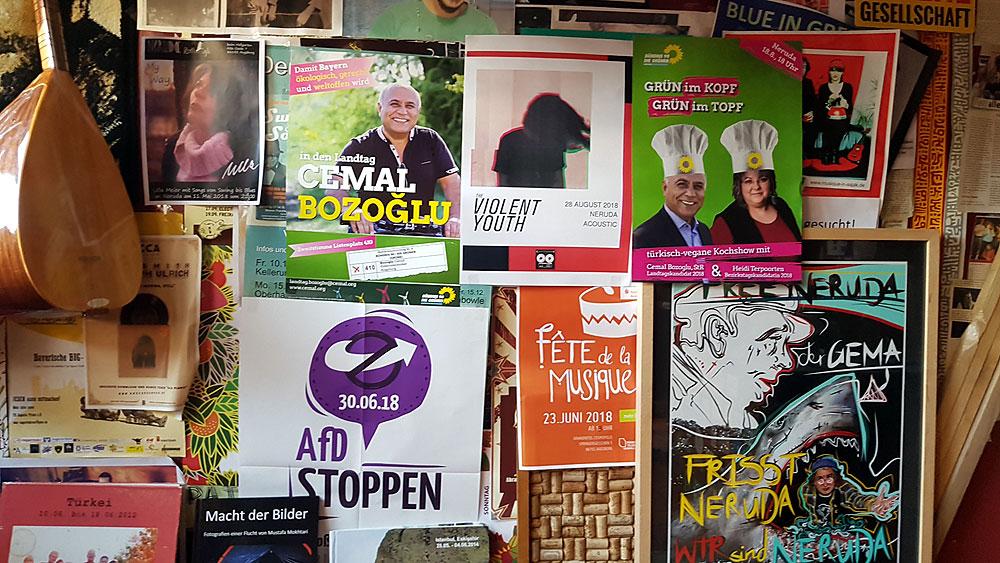 Grün im Topf, Grün im Kopf - türkisch veganes Kochen im Augsburger Neruda