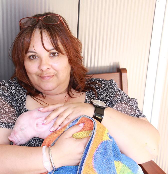 Happy auf dem Arm, 2012