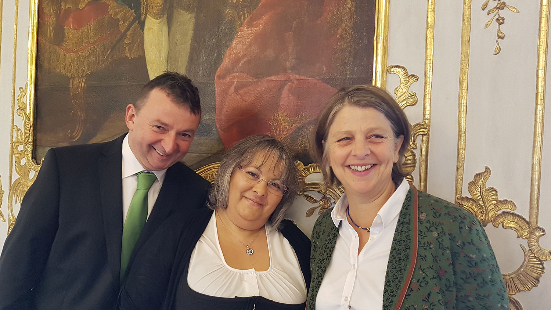 mit Albert und Barbara