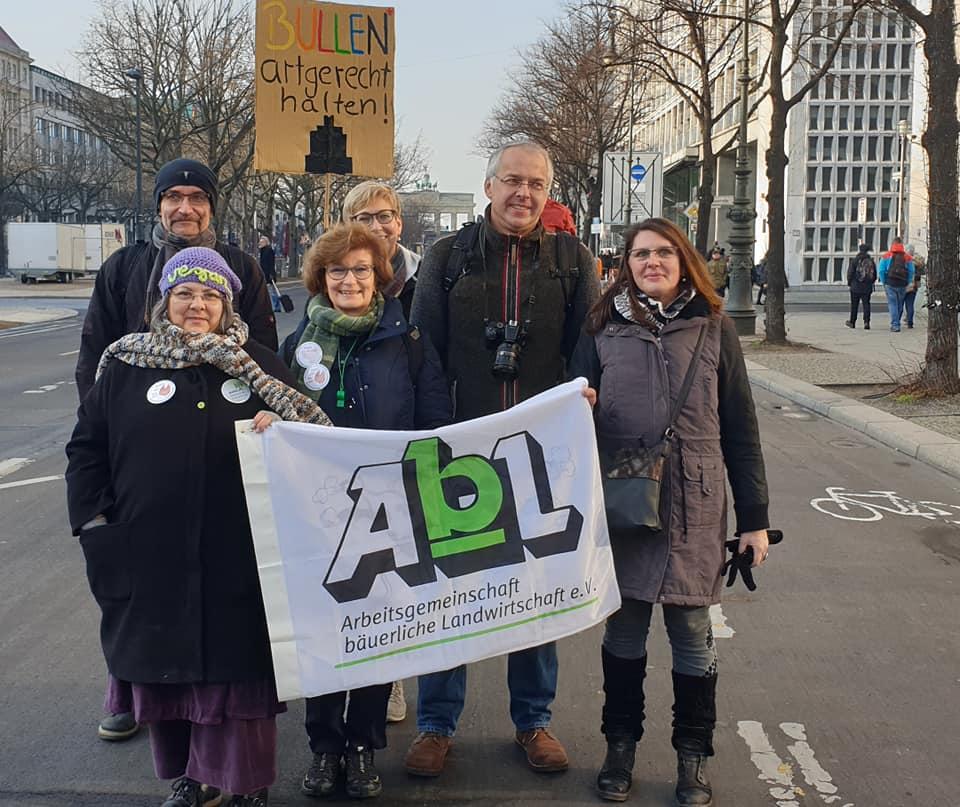 """Kreisgruppe BN im Januar in Berlin auf der Demo """"Wir haben es satt""""19"""