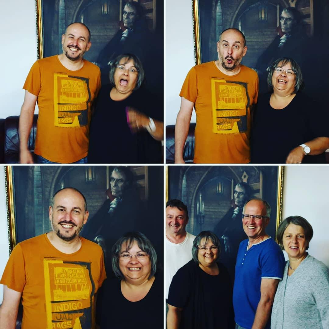im Dracula Hotel/ Studienreise des Bezirks in die Bukowina
