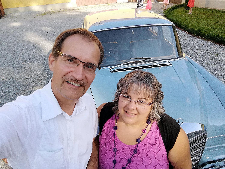 auf der GRÜNEN Hochzeit von Yasmin und Ümit mit Volker