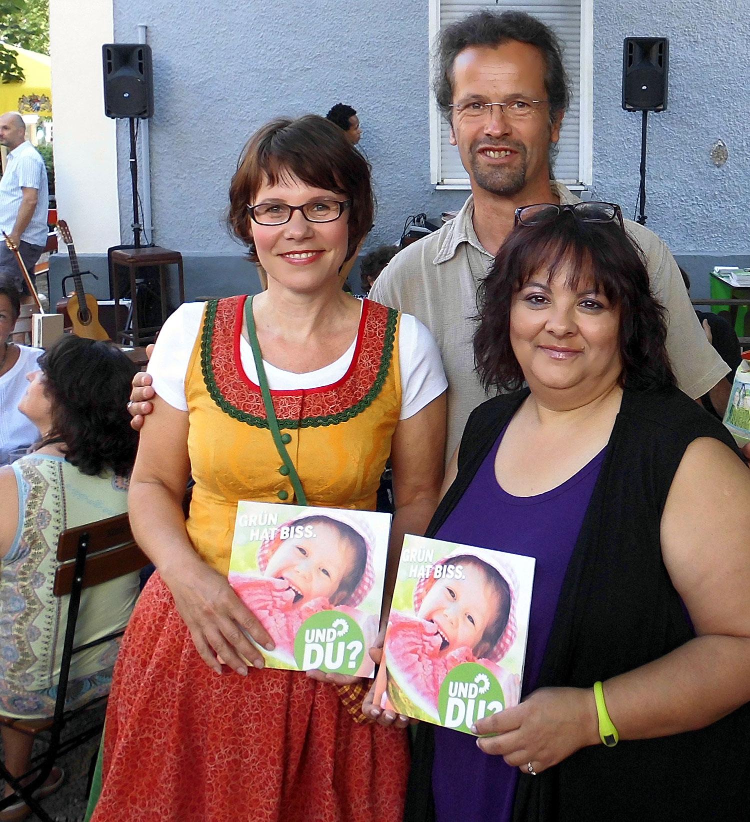 Wahlkampfauftakt 2013 mit Kirsi Hofmeister Streit