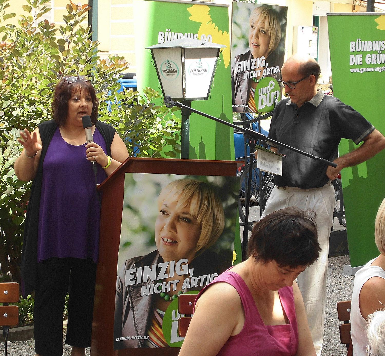 Wahlauftaktveranstaltung 2013 im Rheingold in Augsburg