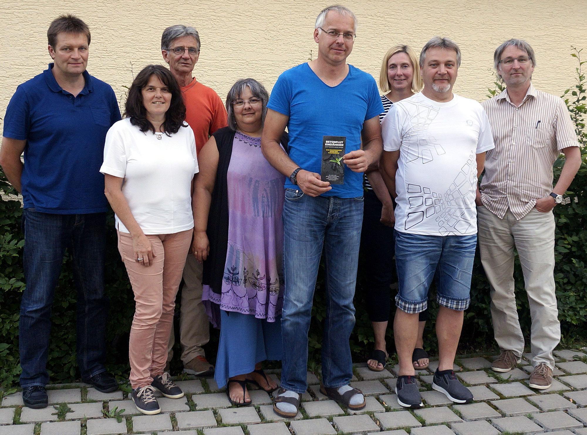 Bündnis 2017 für das Volksbegehren gegen die Betonflut